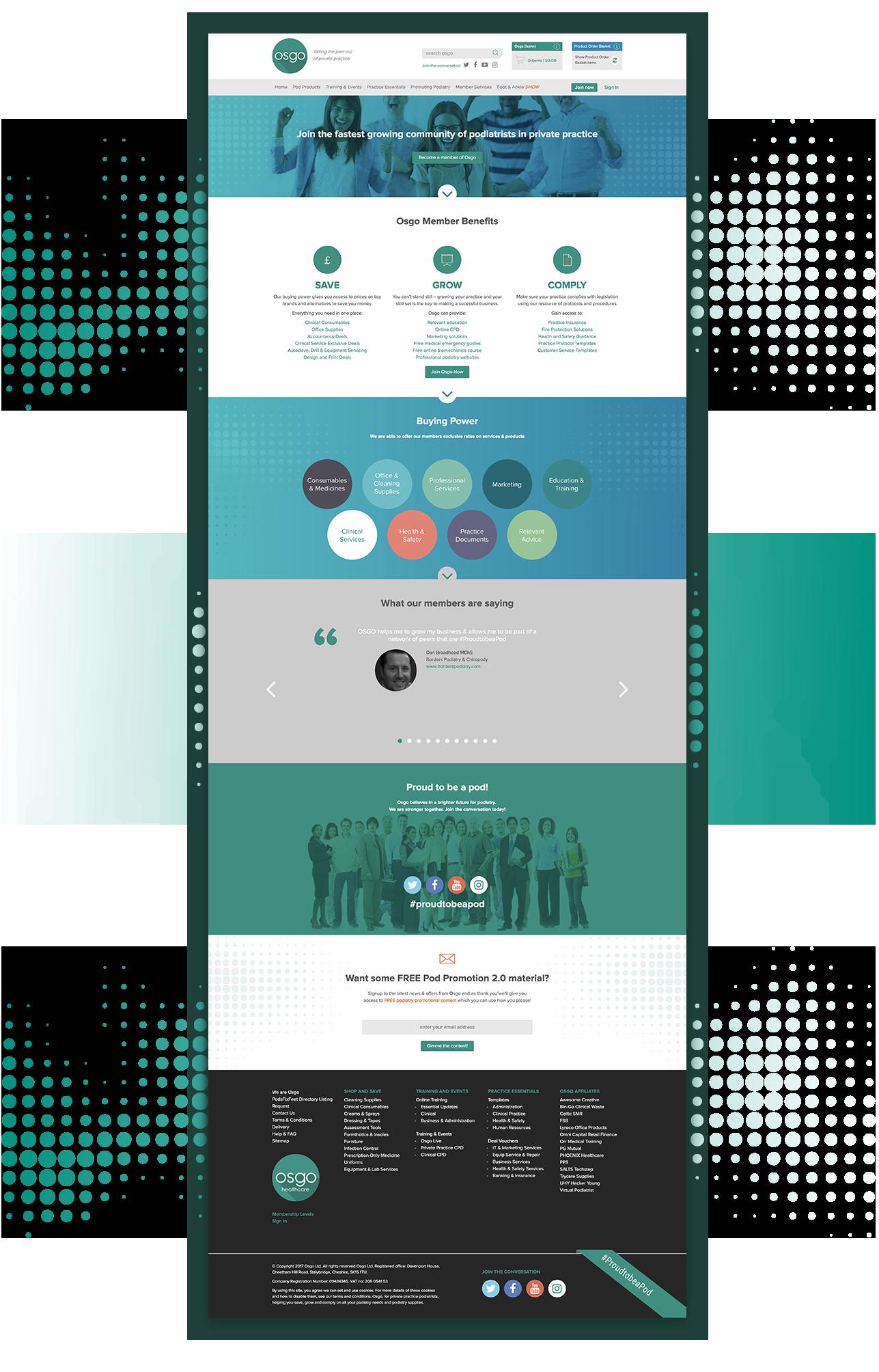 Osgo Web Design Manchester