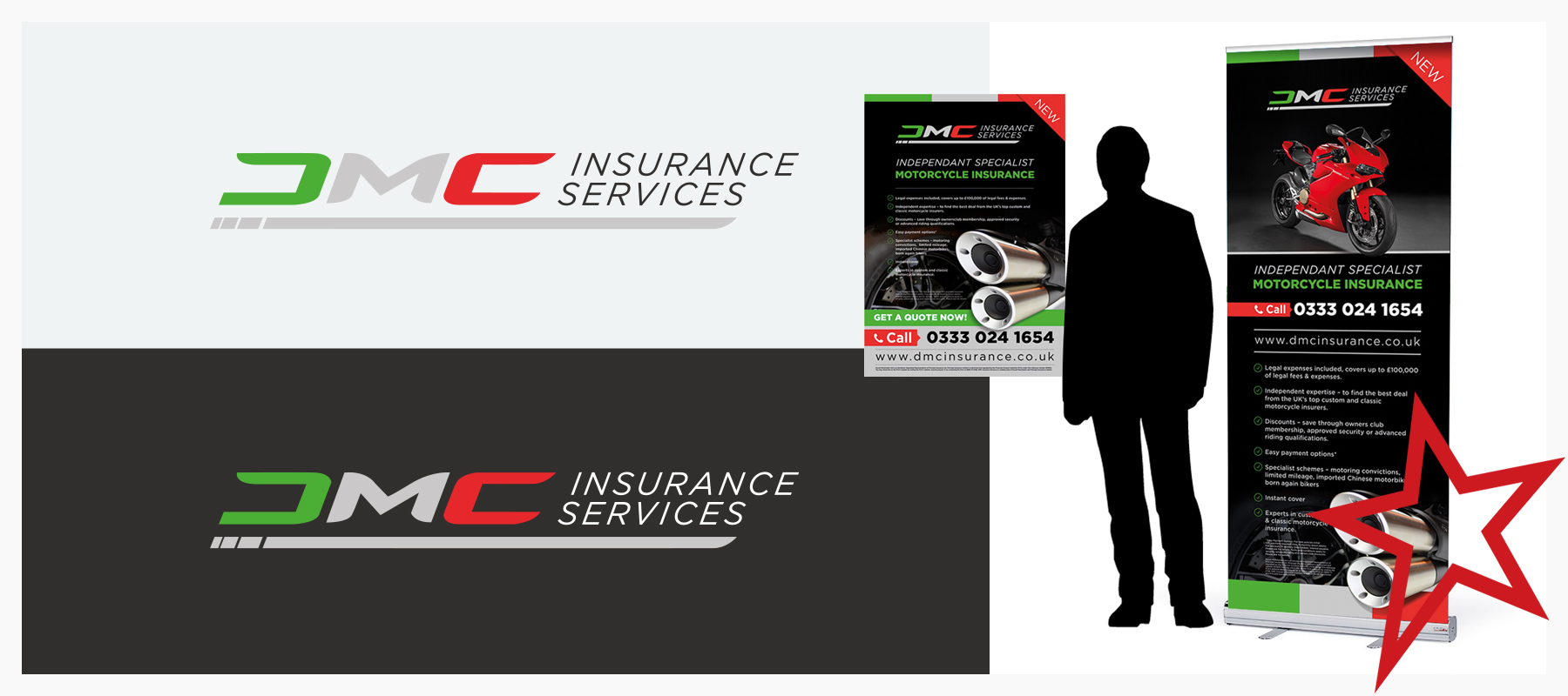 financial insurance branding and logo design
