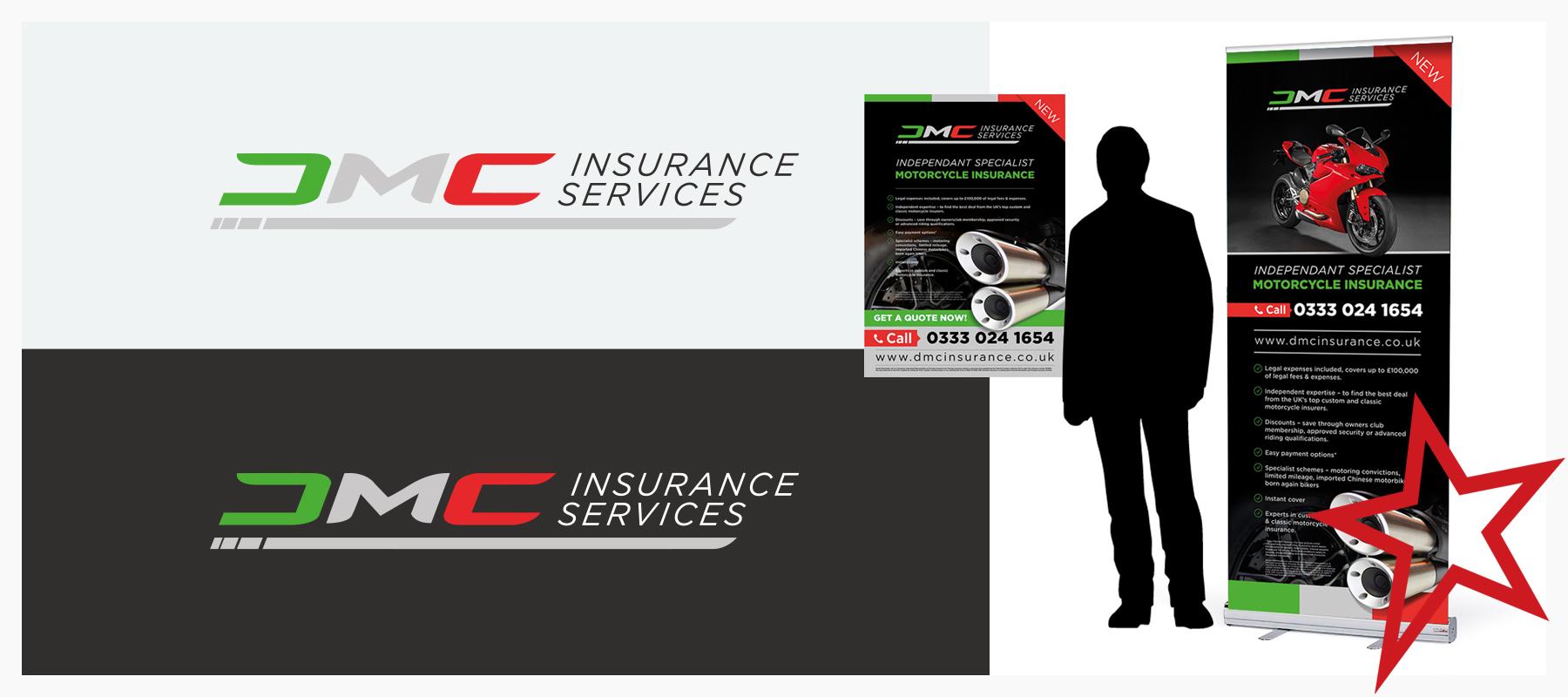 financial insurance branding and logo design
