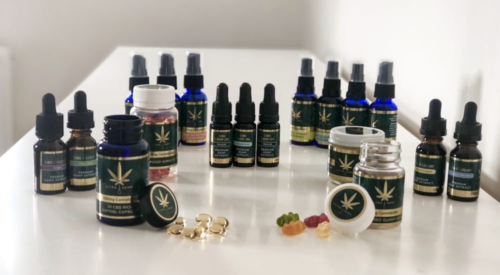 Full set products CBD products