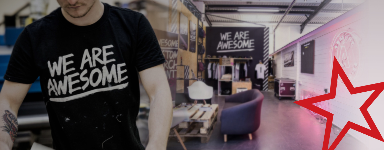 We invest in Awesome Merchandise