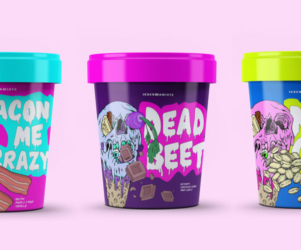 Icecreamists Packaging