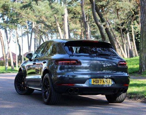 Porsche Macan Gts Vehicle Wrap For White Amp Blue Awesome