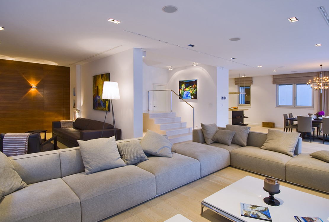 Villa Tiha lounge
