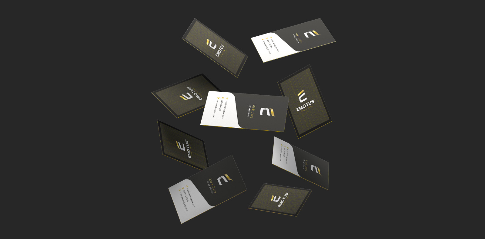 Emotus business cards