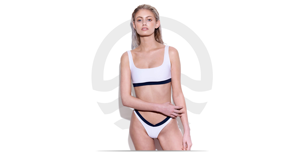 Eco Swim blonde model