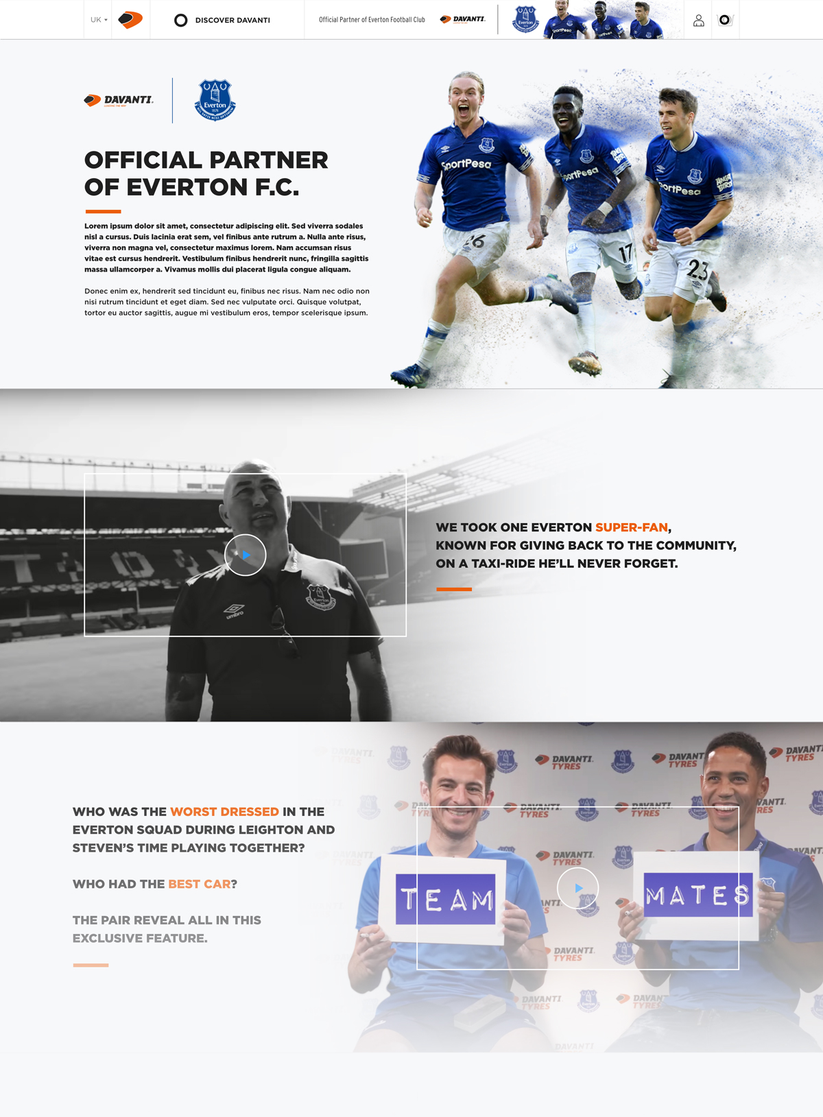 Davanti Everton Partnership
