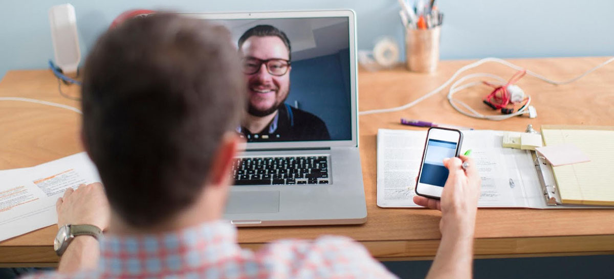 working video call